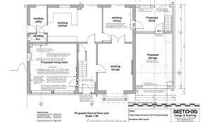 ground floor extension plans garage extension plans inspiration home building plans 30791