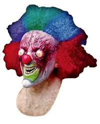 it clown halloween mask crazy clown mask creepy clown mask made of latex horror shop com