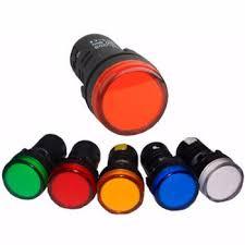 24vdc led indicator light led pilot l ad16 22ds ad22 22ds 6vdc 12vdc 24vdc 36vdc 48vdc