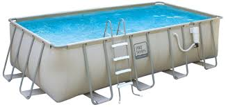 Intex Metal Frame Swimming Pools Pro Series Rectangular Metal Frame Swimming Pool 12 By 24 Feet