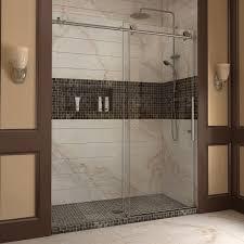 bathroom lowes frameless shower doors dreamline shower onyx