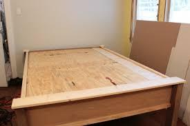 Build Wooden Bed Frame Diy Wooden Bed Frame How To Make A Wood Bed Frame Design