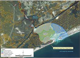 Intracoastal Waterway Map Mcb Camp Lejeune Surface Danger Zones