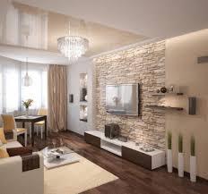 Wohnzimmerwand Braun Wohnzimmer Braun Beige Kunstfell Teppich Laminatboden Modernes