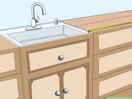 how high to fit kitchen base units how to measure kitchen cabinets 11 steps with pictures
