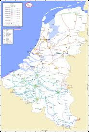 Map Of Holland Maps Benelux Network