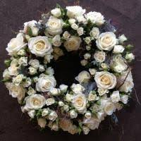 funeral wreaths funeral wreath delivered to london funeral directors by stems uk