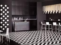 carrelage cuisine noir brillant carrelage noir blanc stunning attrayant cuisine blanche et