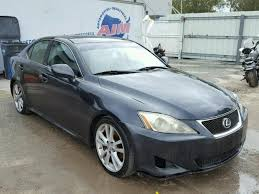 2007 Lexus Is250 Interior Salvage Lexus Is250 For Sale At Copart Auto Auction Autobidmaster