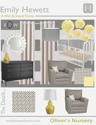 home decor design board interior design yellow and grey baby room decor gray nursery wall
