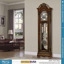 Grandmother Clock Howard Miller Grandfather Clocks Traditional Floor Clock