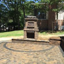 Paver Patio Kits This Outdoor Fireplace Kit From General Shale Was Part Of Our