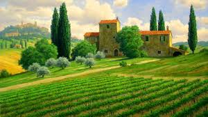italian countryside wallpaper wallpapersafari