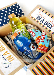 date gift basket date in a box