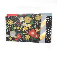 Floral Desk Accessories Gold Floral File Folders Home Office Gold Desk Accessories