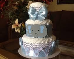 chevron diaper cake etsy