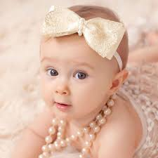 headband with bow ivory gold lace bow headband with pearls childrensalon