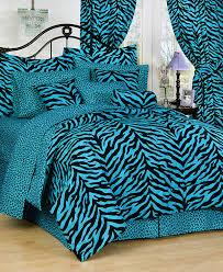 Zebra Bed Set Zebra Animal Bedding Pink Green Blue Purple Zebra Bed Setsfor