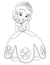baby disney princess coloring coloring