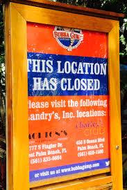 bubba gump restaurant closes on jupiter u0027s waterfront northern