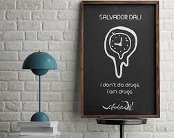 Signature Home Decor Dali Quotes Etsy