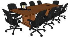10 x 4 conference table conference tables 3d warehouse