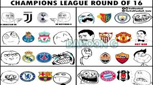 Chions League Memes - memes del sorteo de la uefa chions league 17 2018 daroon game fc