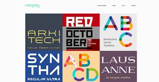 creative font design online top 10 free font resources