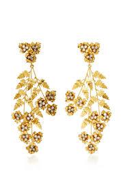 gold plated earrings gold plated earrings by behr moda operandi