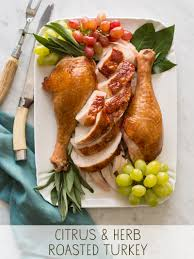herb turkey recipes thanksgiving citrus and herb roasted turkey thanksgiving spoon fork bacon