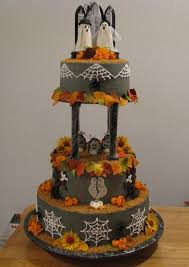 Halloween Wedding Cake by Picture Of Halloween Wedding Cakes Design Wedding Decor Theme