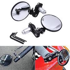 motorcycle accessories amazon com katur 2x motorcycle motorbike rear view mirror handle