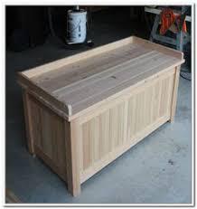 Patio Storage Bench Custom Made Custom Western Red Cedar Patio Storage Bench Patio