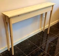 bedroom lovely pneumatic addict butcher block sofa table long