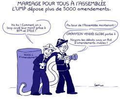loi du mariage pour tous plus de 5000 amendements pour le projet de loi sur le mariage pour