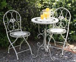 White Cast Iron Patio Furniture Patio Amusing Metal Patio Table And Chairs Metal Patio Table And