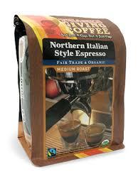 northern italian style espresso thanksgiving coffee company