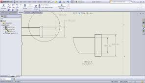 drawing dimensioning foreshortened solidworks tech tips