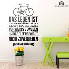 sprüche fahrrad wandtattoos das leben ist wie ein fahrrad sprüche