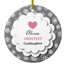 goddaughter ornament godmother ornament zazzle