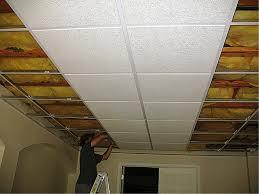 ideas for basement drop ceilings about ceiling tile