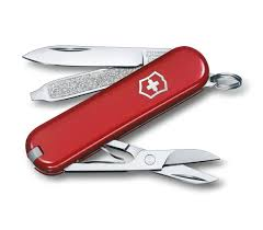 Swiss Knives Kitchen by Classic Sd In Red 0 6223