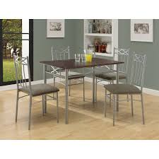 5 piece dining room sets furniture of america amonica 5 piece casual dining set hayneedle