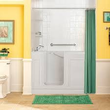 Walk In Bathtubs With Shower Walk In Baths By American Standard A More Accessible Secure Way