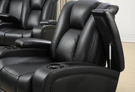 Luxury Power Outlets Black Leather Power Reclining Sofa Steal A Sofa Furniture Outlet