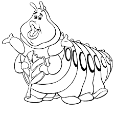 a bug u0027s life heimlich a bug u0027s life coloring pages pinterest
