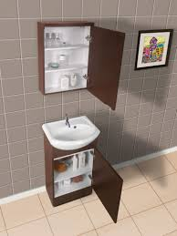 Shallow Bathroom Cabinet 18 5