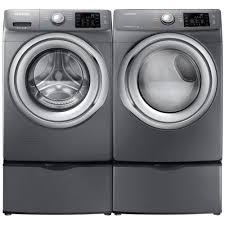 Front Loader Pedestal Stackable Front Load Washer And Dryer