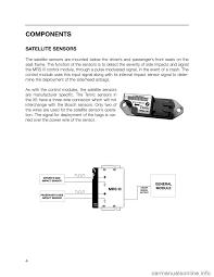 bmw 7 series 2000 e38 mrsiii multiple restraint system manual