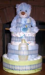 easy diaper cake instructions